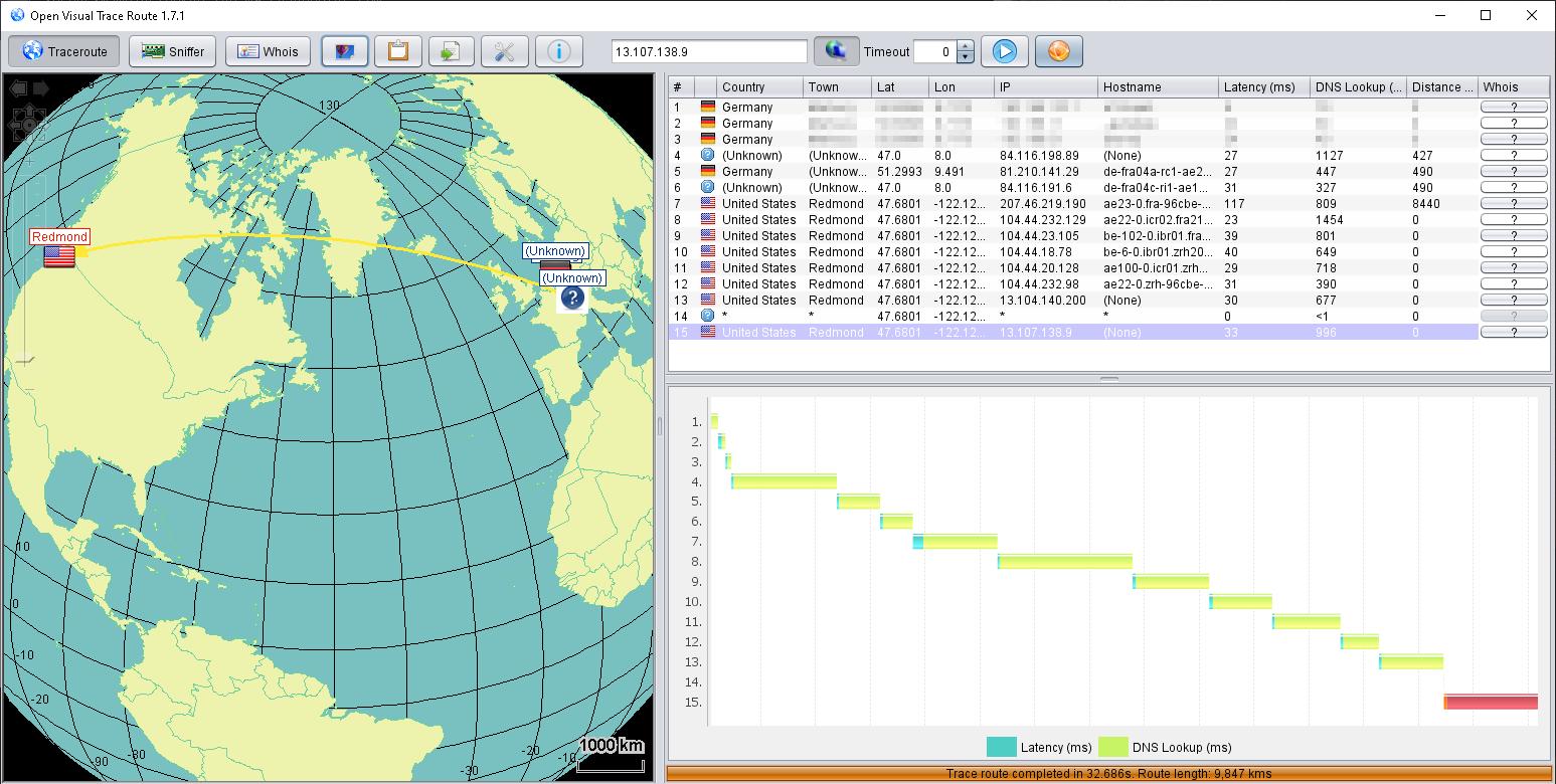 IP-Adresse zu Internetadresse mit nslookup ermitteln
